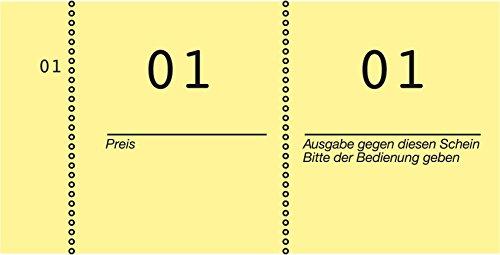Avery Dennison 869-10-2 - Paquete de 10 blocs para gráficos y datos, 10 x 53 mm, surtido