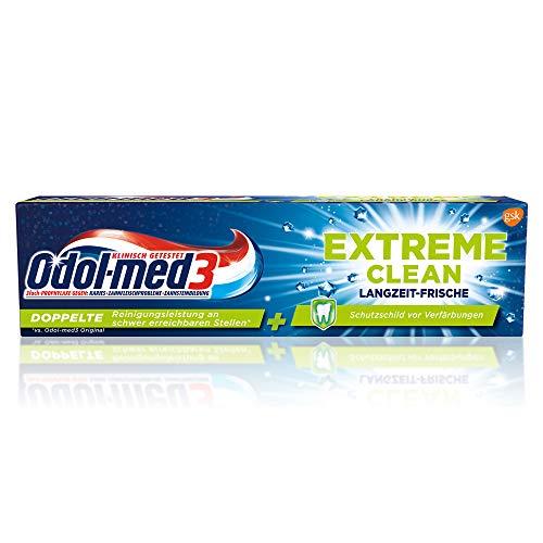 Odol-med3 Extreme Clean Langzeit-Frische Zahnpasta, 75ml