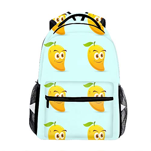 School Backpack Durable Children School Book Bags Mango Kawaii