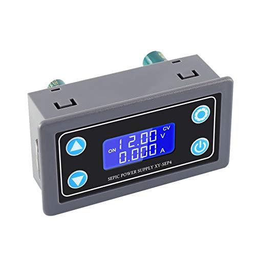 Buck Boost Converter,Over-Discharge Protection Voltage Regulator DC 5.0V-30V to 0.5V-30V Step Up Down Power Supply Module