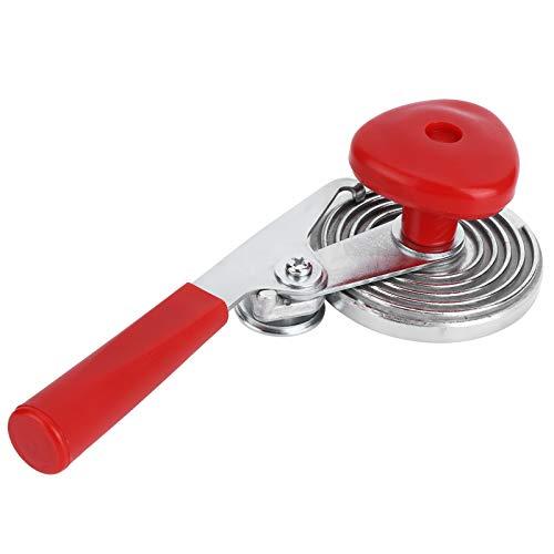 【2021 Promoción de año nuevo】Jarchii Dispositivo de prensado, batidor de latas, Hierro de Mango Largo + Superficies Brillantes manuales de ABS de 22,5 cm para Herramientas de Cocina de Restaurante par
