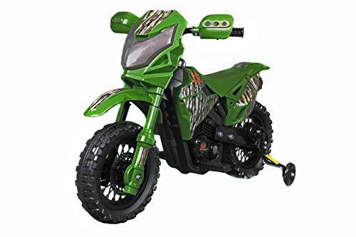 Best Ride On Cars Realtree Original Dirtbike, 6V, Camo Green