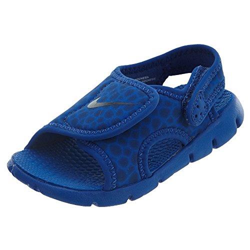 Nike - Sunray Adjust 4 Niebieskie - 386519414 - Farbe: Blau - Größe: 19.5