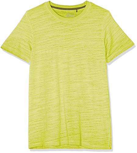 s.Oliver Herren 03.899.32.4584 T-Shirt, Grün (Tangy Lime 7070), Medium (Herstellergröße: M)