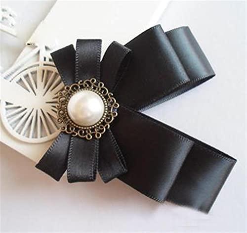 IASHNPIN Broche Broches de Pin para la promoción Cinta Real de Moda Unisex Joyería Fina Boca Boca Boca BROCH CORSIÓN Camisa COLURÓN Cuello (Metal Color : 4)