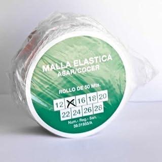 alesframa Malla elástica para Carne, Rollo de 50 Metros (Calibre 14)