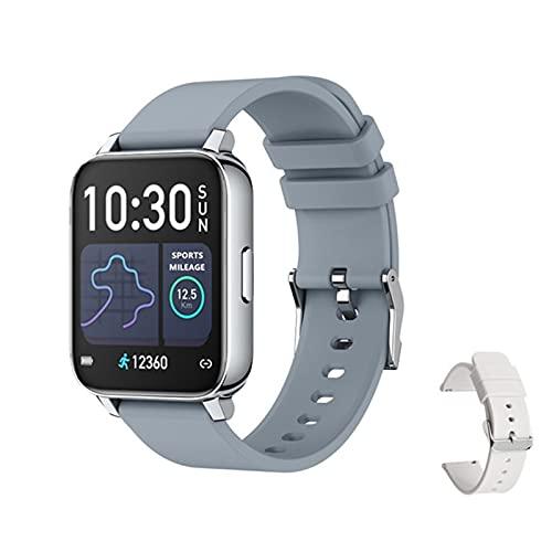 IP67 Reloj Inteligente A Prueba De Agua Monitor De Ritmo Cardíaco para Hombre Rastreador De Fitness Presión Arterial Smartwatch para Android iOS,D