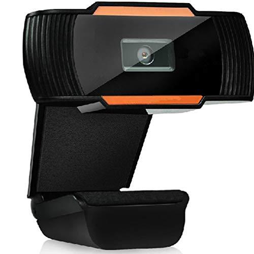 Solustre Webcam HD 480P Videocamera per PC Mic Incorporato Videocamera per Computer USB Esterna per Laptop Desktop Mac Videochiamate per Videoconferenza Skype