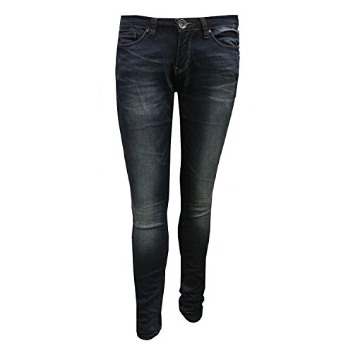 Blue Rebel - Meisjesbroek Jeans Washed Look, blauw -7242016 - 158blauw