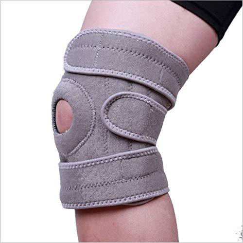Rodillera articulada para hombres y mujeres, rodillera para lesiones hinchadas, tendones, ligamentos y meniscos (grande)