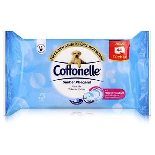 Cottonelle Feucht, Sauber Pflegend, 44 Stück