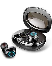 Wireless Headphones, Motast Wireless Earbuds [Super Light] Bluetooth 5.0 Headphones with Type-C Charging Case, Wireless Earphones with 3D HiFi Stereo, IP7 Waterproof/HD Mic/Touch Control[2020 Upgrade]