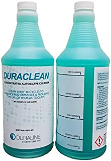 Autoclave Cleaner, Sterilizer Cleaner, liquid solution, 4 bottles,32 oz. each, 5 Cleanings per bottle