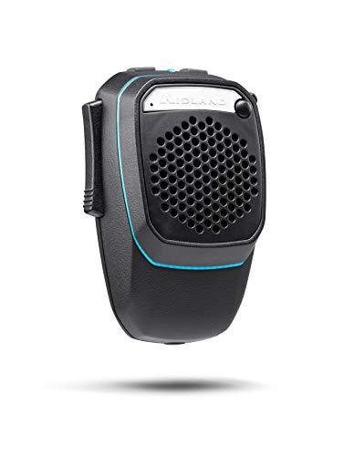 Midland Dual Mike Wireless, C1363, Bluetooth- & CB-Mikrofon, kompatibel mit CBTalk-App, DSP-Signalprozessor, Freisprecheinrichtung