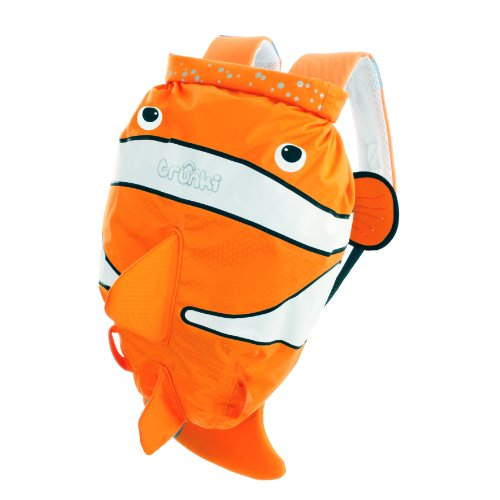 Trunki PaddlePak mochila, color Orange and White, tamaño talla única