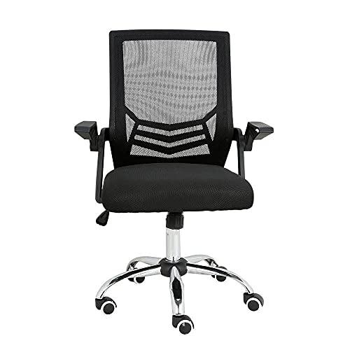 Cadeira de Escritorio Multilaser Adapt Giratória - GA204, Preto