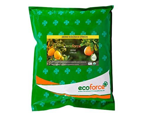 CULTIVERS Abono - Fertilizante Ecológico de 5 Kg Especial Cítricos. Origen 100% Orgánico y Natural Microgránulado. Mayor Rendimiento y Aumento del Calibre del Fruto