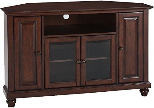 Crosley Furniture Cambridge 48-inch Corner TV Stand - Vintage Mahogany