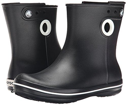Crocs Women's Jaunt Shorty Rain Boots, Black, 7