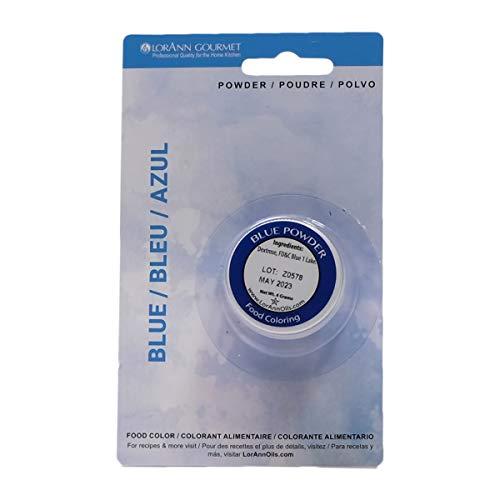 LorAnn Blue Powder Food Color 1 2 ounce jar