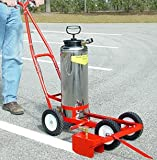 Parking Lot Paint Line Striping Machine Hand Pump Model
