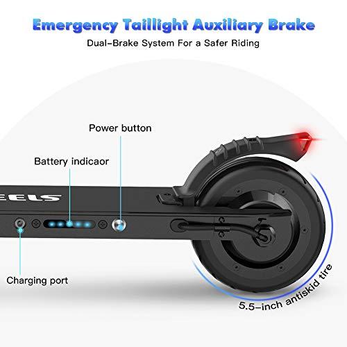 MEGAWHEELS E Scooter Tret-Roller, CityRoller Elektrischer Roller Klappbar mit 12km Langstrecken Akku, bis zu 23km/h, Einfach zu Falten und zu Tragen E-Roller für Erwachsene Jugendliche und Kinder - 8