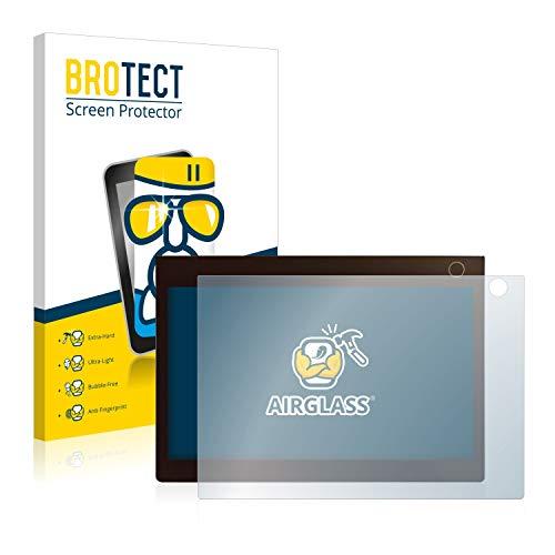BROTECT Protector Pantalla Cristal Compatible con Lenovo Yoga Book C930 (Touchpad) Protector Pantalla Vidrio - Dureza Extrema, Anti-Huellas, AirGlass