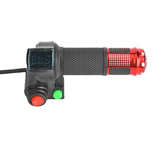 1 par Puño Acelerador Manual con Pantalla LED 12 a 99V para...