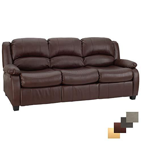 RecPro Charles 80' RV Sleeper Sofa w/Hide A Bed | RV Furniture | RV Sofa (Mahogany)
