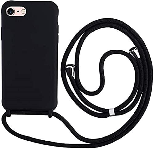 Hykjt Funda con Cuerda Compatible con iPhone 6/7/8 Plus(5.5