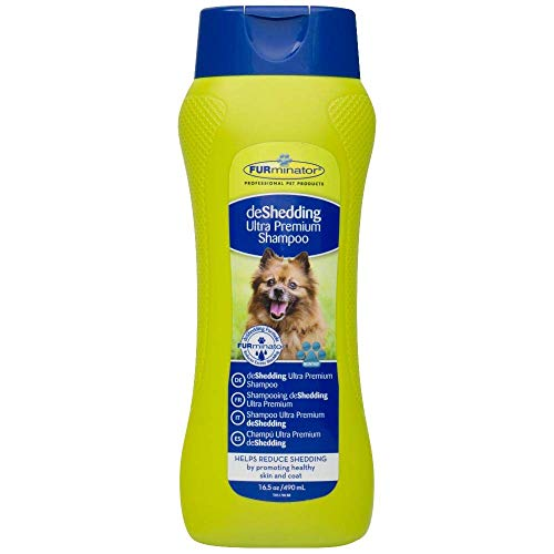 FURminator Champú deShedding Ultra Premium para perros, 490 ml ✅
