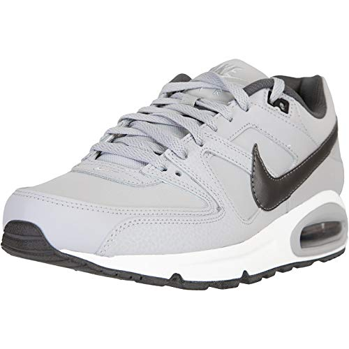 Nike Air Max Command - Zapatillas de piel, color Gris, talla 46 EU