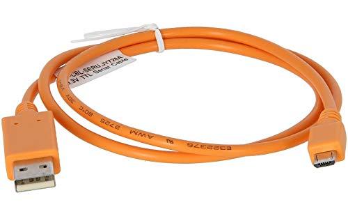 HP jy728a Aruba microUSB 2.0Konsole Adapter Kabel–USB/Serial-Kabel, TTL Serial (F) auf USB (M)–Für Aruba ap-203h, ap-303h - verschiedene Farben