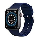 """Fire-Boltt Ring Bluetooth Calling Smartwatch with SpO2 & 1.7"""" Metal Body with Blood Oxygen Monitoring, Continuous Heart Rate, Full Touch & Multiple Watch Faces (Blue), M (BSW005) - Best Reviews Guide"""