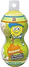 Wilson SpongeBob SquarePants Tennis Balls (2 Pack)