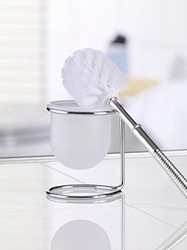 WC-Garnitur Draht verchromt 36 cm Chrombügel