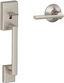 Schlage LOCK FE285 CEN 619 LAT Century Front Entry Handle Latitude Interior Lever (Satin Nickel)