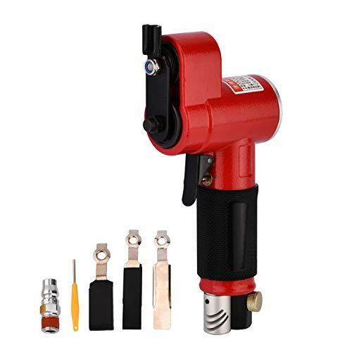 Nieuwe mini perslucht excenterschuurmachine haakse slijper/polijstmachine mini recht rood krachtig (hoekpolijstmachine)