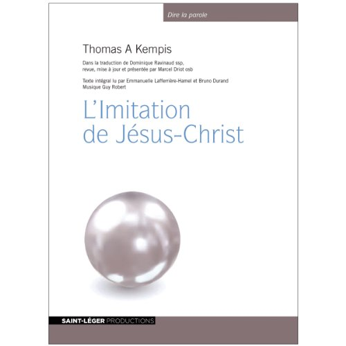L'Imitation de Jésus-Christ audiobook cover art