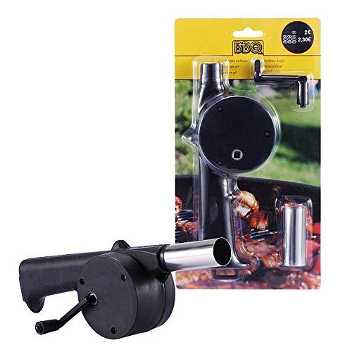 SY-Heat Grill Aansteker Ontsteking speciale Hand Crank Kleine Draagbare Barbecue Tool Barbecue Ventilator