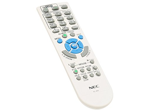 NEC Fernbedienung RMT-PJ36, RD-469E für M282X, M283X, M302WS, M303WS, M322H, M322W, M322X, M323H, M323W, M323X, M332XS,