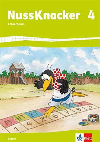 Nussknacker 4. Ausgabe Bayern: Lehrerband (Hinweise zum Schülerbuch). Teil 1 Klasse 4 (Nussknacker. Ausgabe für Bayern ab 2014)