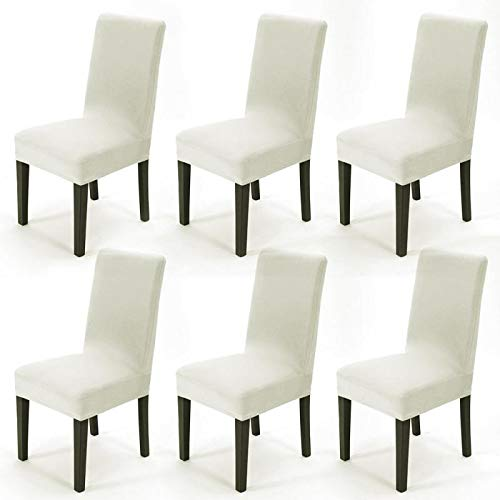 Pack 6 Fundas sillas Fundas sillas Comedor Elásticas
