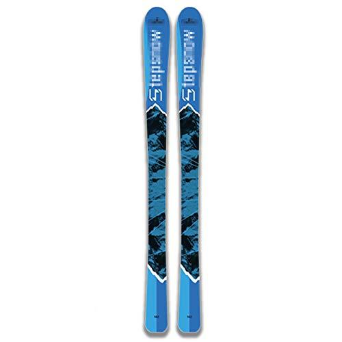 Tablas De Snowboard, Esquís, Esquís Resistencia Al Frío Extremo Esquís Superresistencia A La Presión Material De Esquí Suministros Adecuados para Adultos,Azul,153