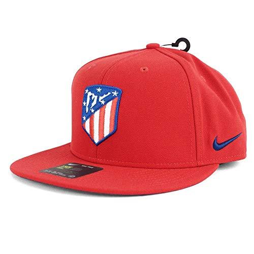 アトレティコ・マドリード アトレチコ キャップ 帽子 ナイキ/Nike レッド スナップバック アジャスタブル メンズ ラ・リーガ - OSFA [並行輸入品]