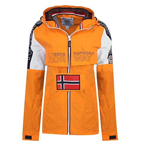 Geographical Norway Chaqueta ASTINA FULL ZIP de mujer NARANJA L