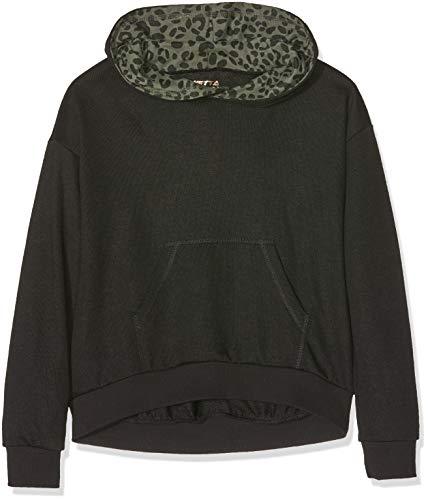 Sanetta Sanetta Mädchen Sweatshirt, Schwarz (Super Black 10015.0), 176