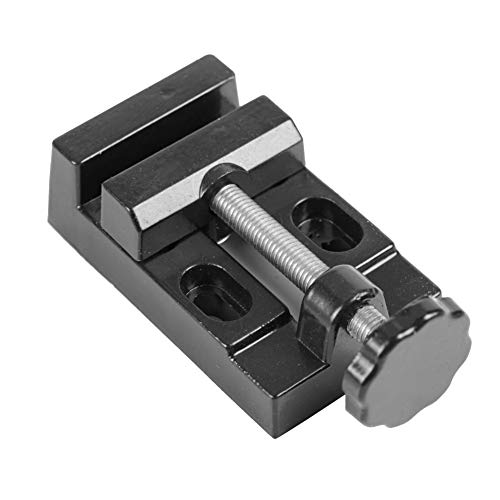 Bench Clamp, Bench Vise, Drill Press Vice, Stable Aluminum Alloy Model Make Repairing for Vice Bench Fine Workshop Accessory Carving Tools Fixing