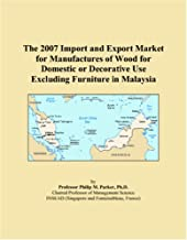 The 2007 Import and Export Market for Manufactures of Wood for Domestic or Decorative Use Excluding Furniture in Malaysia