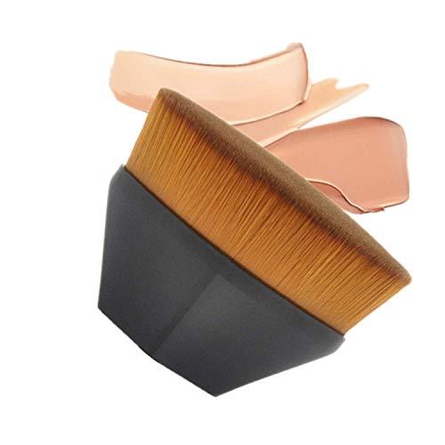Brochas de maquillaje,Brocha para Base de Maquillaje,Cepillo de base en forma de pétalo suave del tacto brochas de base en polvo líquido Face Blush para mezclar cosméticos,líquido o polvos